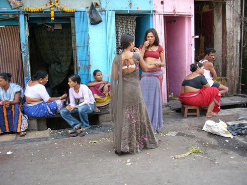 Nepalese prostitutes in Mumbai, India