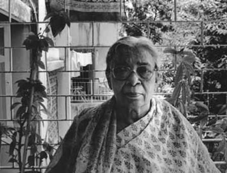 India author Mahasweta Devi