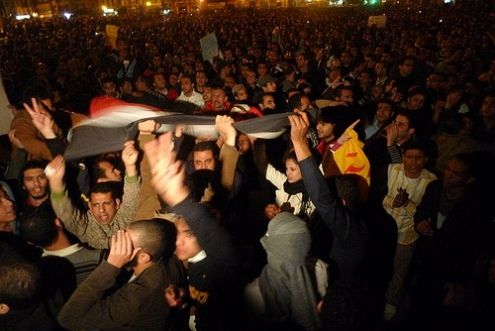 Cairo Protesters January 25, 2011