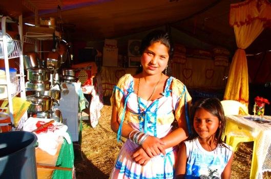 Roma gypsy sisters, São Paulo, Brazil.