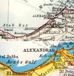 Maps of the Arab Gulf