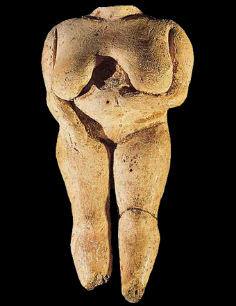 Neolithic era Malta Venus figurine.