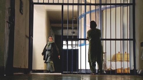 "Women's prison Kabul from HBO film ""Love Crimes of Kabul"""