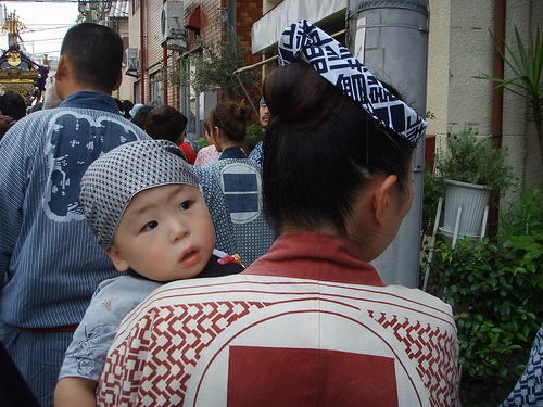 Japan mother and child