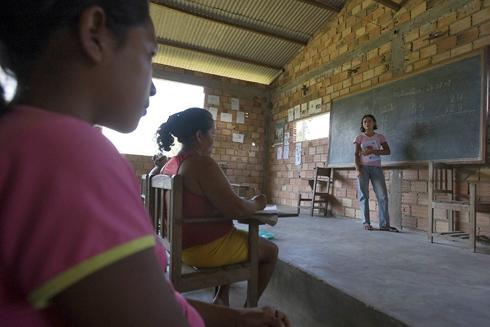 Classroom in Brazil