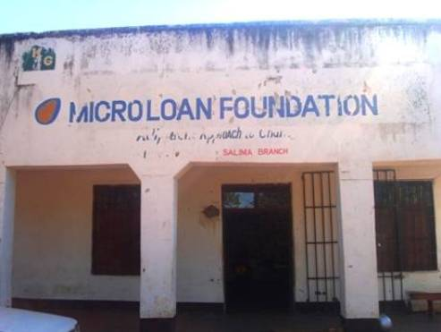 Salima, Malawi Microloan Foundation building.