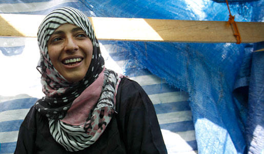 Nobel Peace Prize recipient Tawakkul Karman