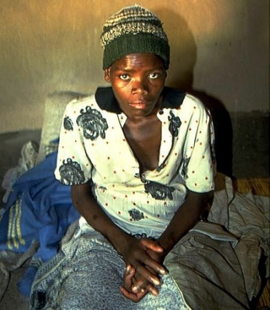 Zimbabwe Iren Maduwa who died of AIDS 2004
