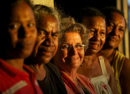 Women of Papua New Guinea and Dame Carol Kidu