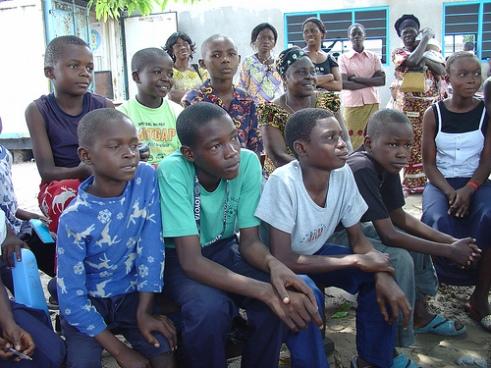 Kinshasa, Congo youth