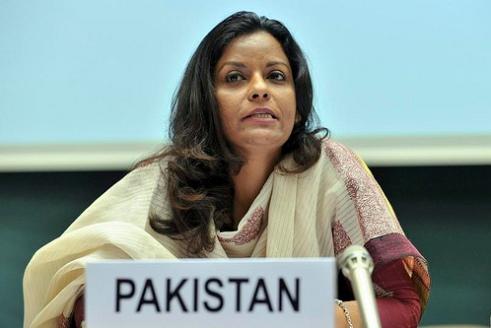 Pakistan Member of National Assembly Ms Nafisa Shah 2011