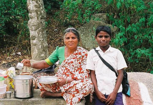 Mother and son Karnataka, India