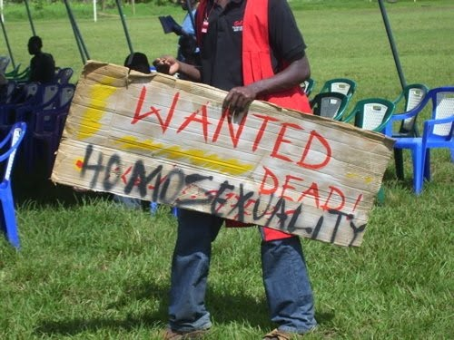 Anti-gay rally Uganda