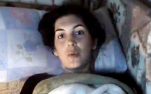 Injured journalist Edith Bouvier - Homs, Syria