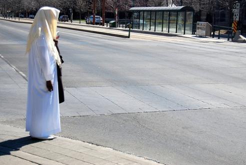 Muslim woman Vancouver, Ontario, Canada 2009
