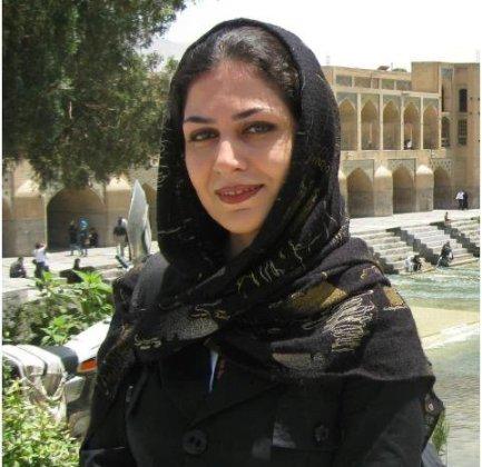 Iranian student activist Mrs. Bahareh Hedayat