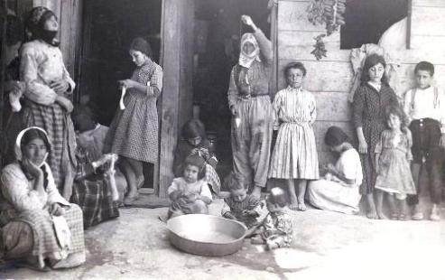 U.S. sponsored Armenian refugee camp in Aleppo, Syria in the 1920s.