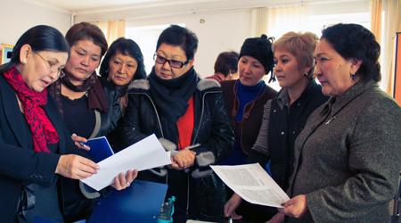 Women's Political Discussion Club Kyrgyzstan