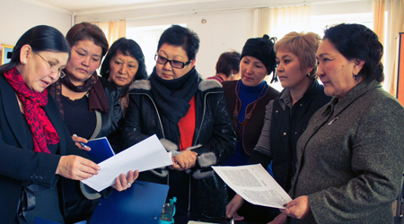 Women's Political Discussion Club Kyrgyzstan