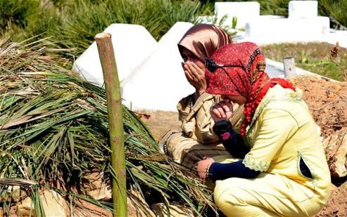Moroccan young bride - Amina Fillali funeral