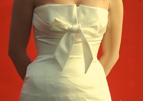Albanian woman in wedding dress