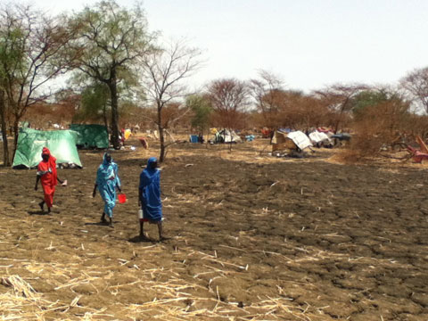 Maban County, South Sudan refugee camp
