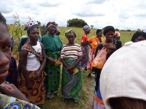 Women farmers Zambia