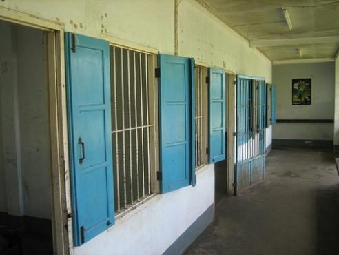 Female cells at Sohanga Drug Detention Centre