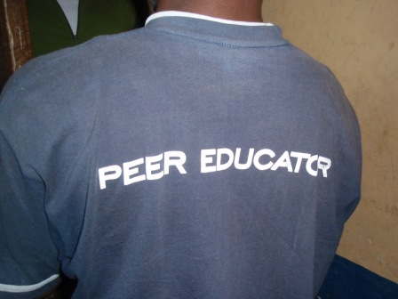 Participant 'Peer Educator' for the YMCA program for youth in Zambia