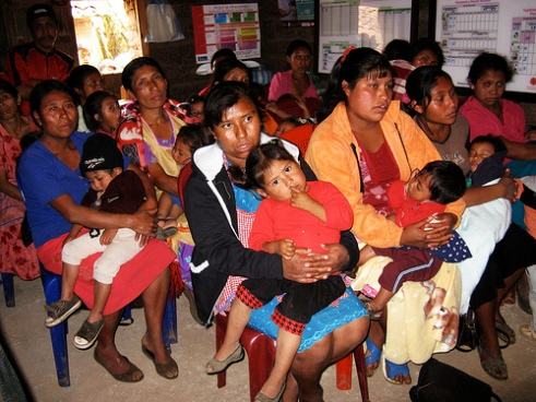 La Gunilla clinic for children sponsored by UNICEF in Guatemala