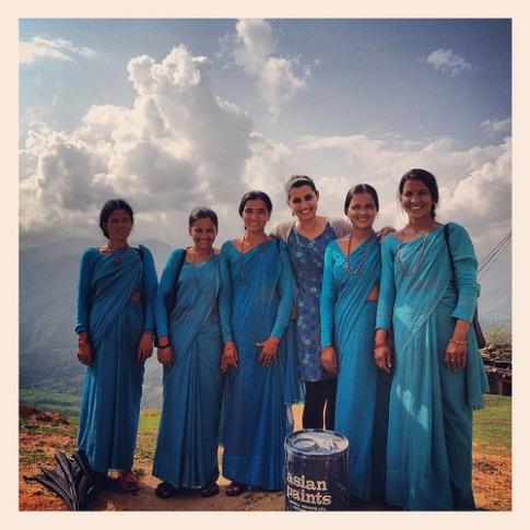 Women community health workers in Western Nepal