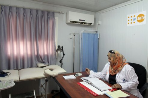 Jordan Health Aid Society clinic for women