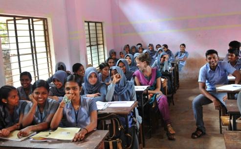 Kerala classroom