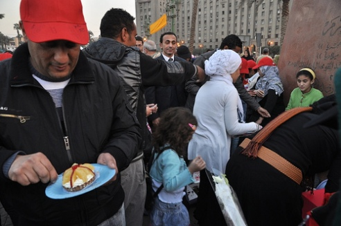 Tahrir Square Cairo, Egypt, February 12, 2011