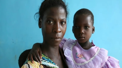 Zambia mother and child