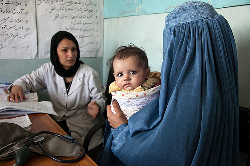 Afghanistan clinic in Parwan Province