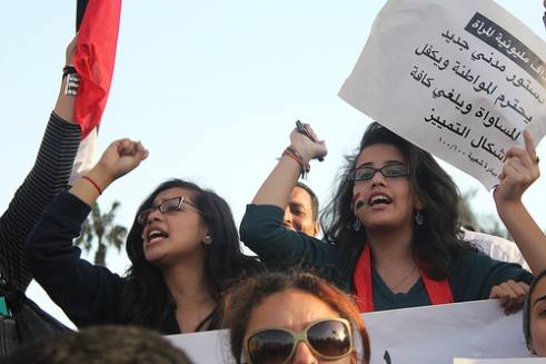 Women protesters March 2011