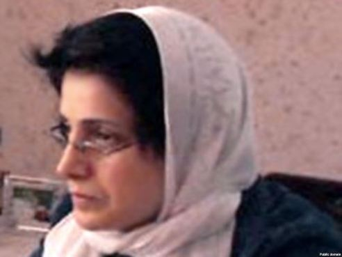 Imprisoned attorney in Iran, Nasrin Sotoudeh