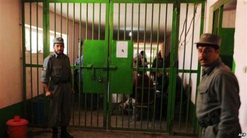 Prison in Samangan, Afghanistan