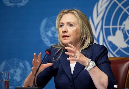 U.S. Secretary of State Hillary Clinton at United Nations Geneva 2012