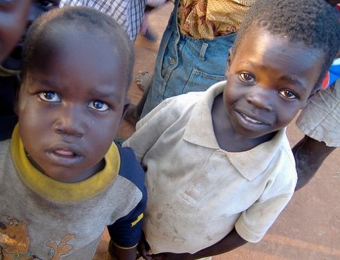 Uganda, Gulu Town street children