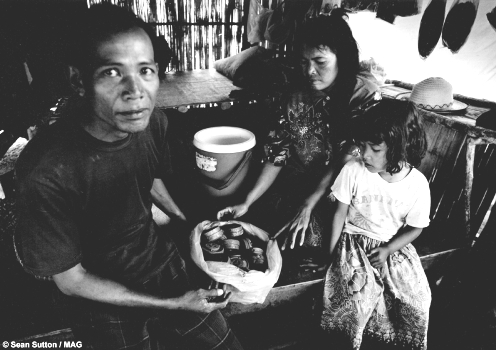 Family discovers numerous landmines around home
