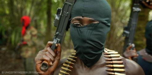 Malian child soldier