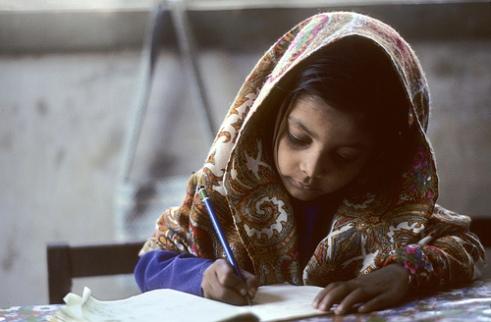 Pakistan schoolgirl