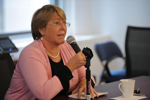 UN Women Executive Director Michelle Bachelet