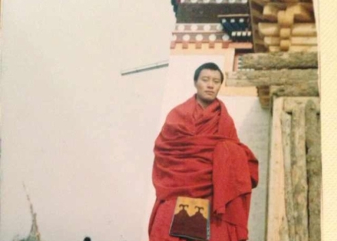 Photo of Tibetan monk who was 100th self-immolation victim