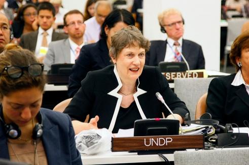 UNDP Head Ms. Helen Clark