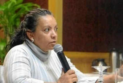Colombian journalist and rights advocate Angelica Bello