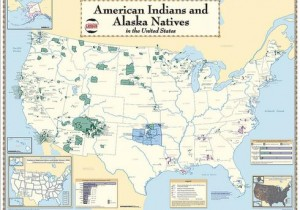 Map of Native America land