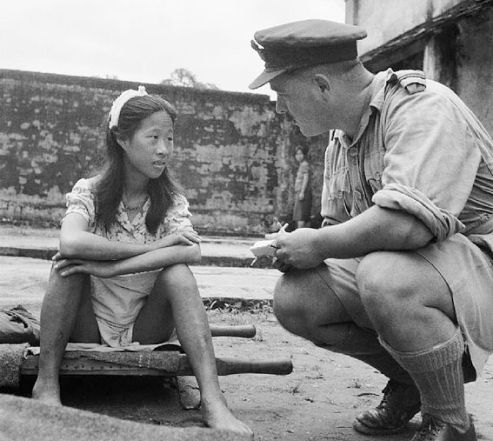 Chinese girl Comfort Woman 1945